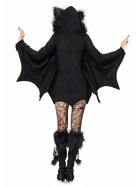Freche Fledermaus Hoodie Dress