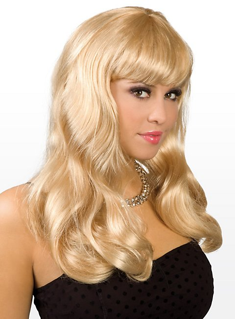Long Hair blond Wig