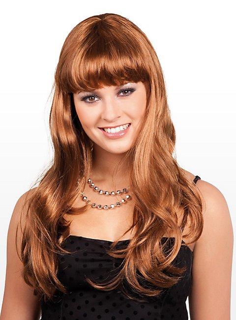 Long Hair brown Wig