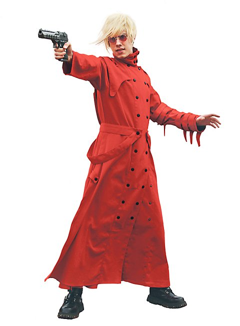Manga Coat red