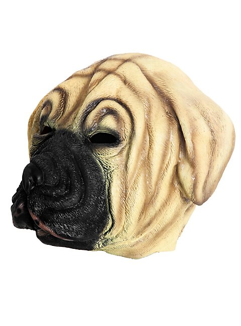 Mastiff Latex Dog Mask
