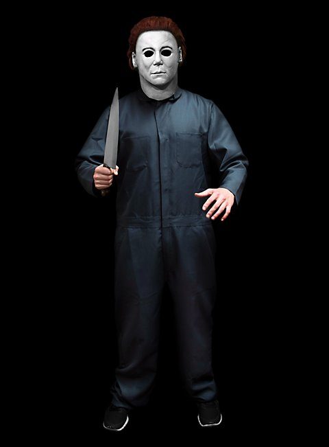 michael myers deluxe halloween h20 costume with mask knife - Halloween H20 Theme