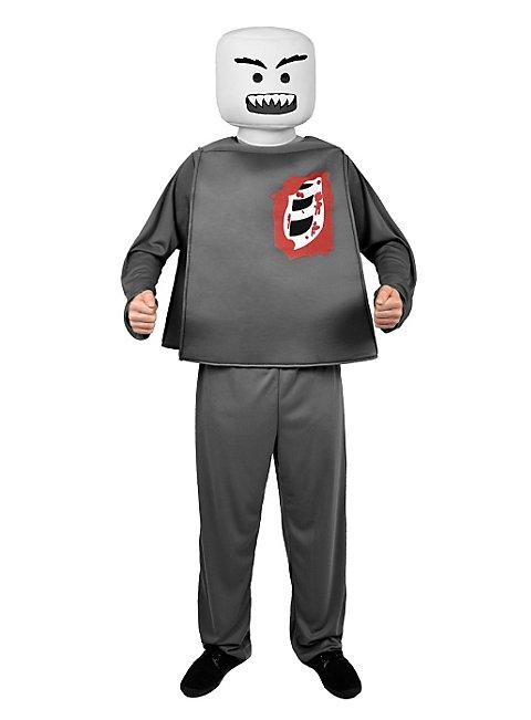 Minifigur Zombie Halloweenkostüm