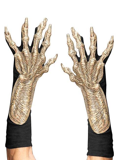Monsterhände hautfarben aus Latex