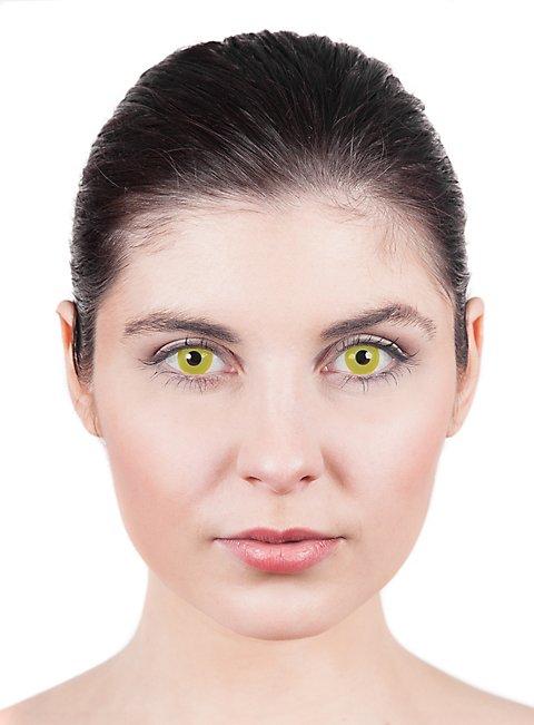 Gelbe Kontaktlinsen Nachtelf