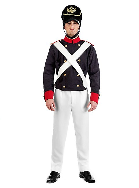 napoleonischer soldat uniform kost m. Black Bedroom Furniture Sets. Home Design Ideas