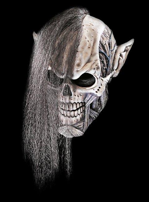 Nekromant Maske aus Latex