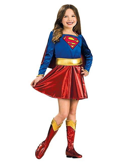 Original Supergirl Kinderkostm Superhelden Outfit