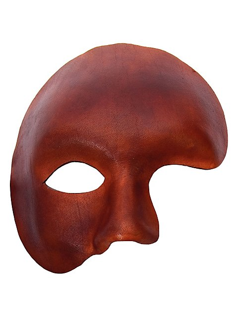Phantom brown Venetian Leather Mask