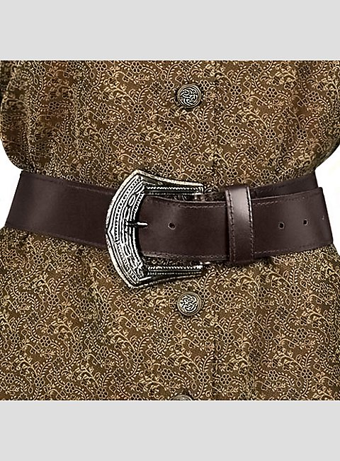 pirate leather belt brown