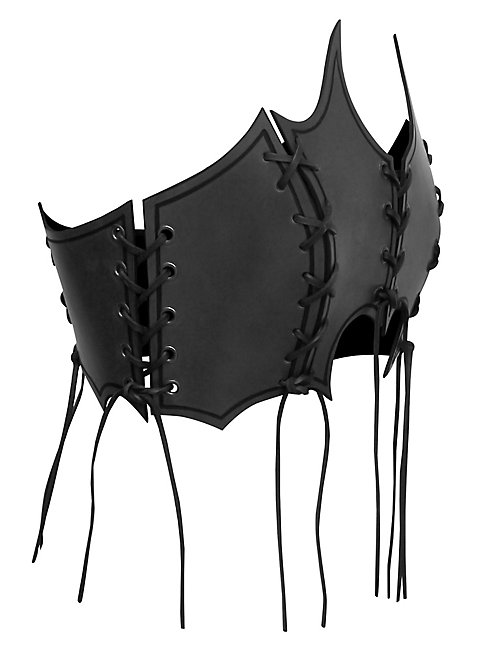 Priestess Leather Bustier black