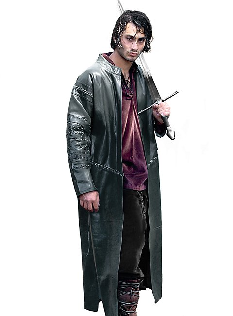 Prince Leather Coat