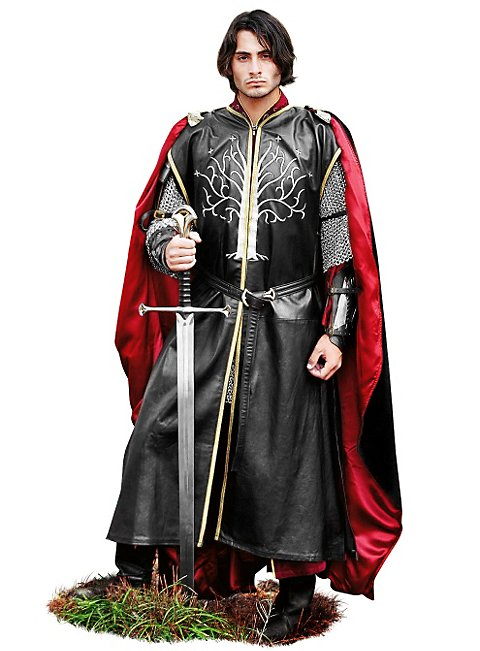 Prince Leather Surcoat