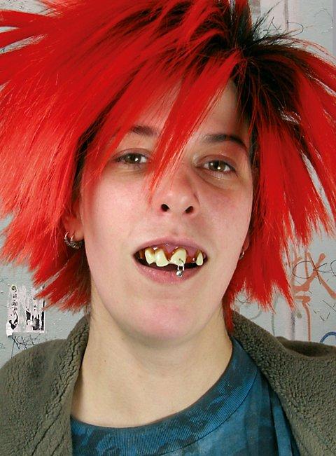 Punk Zähne