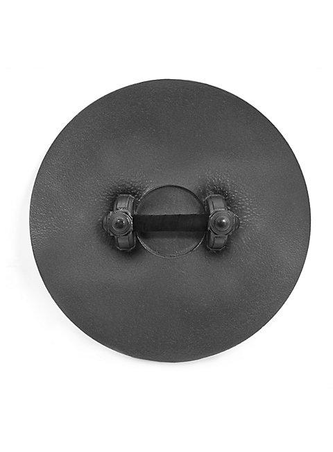 Round Shield black-white Foam Weapon