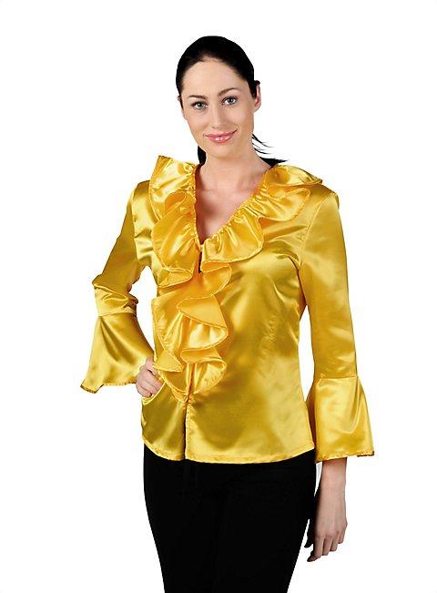 Satin Blouse yellow