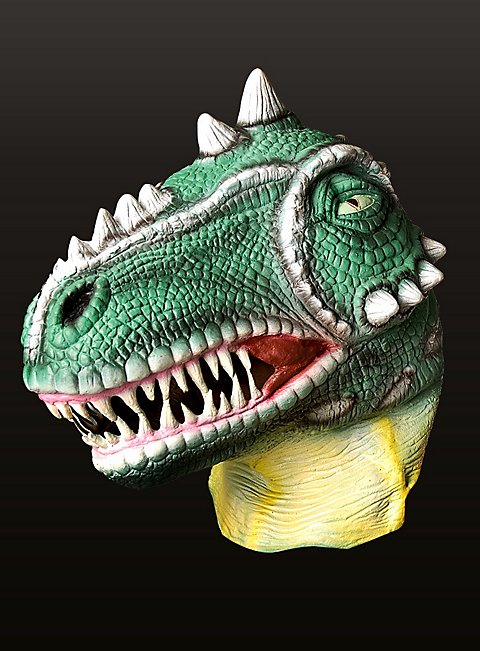 how to make a dinosaur mask out of cardboard