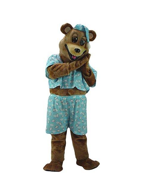 Schläfriger Bär Maskottchen