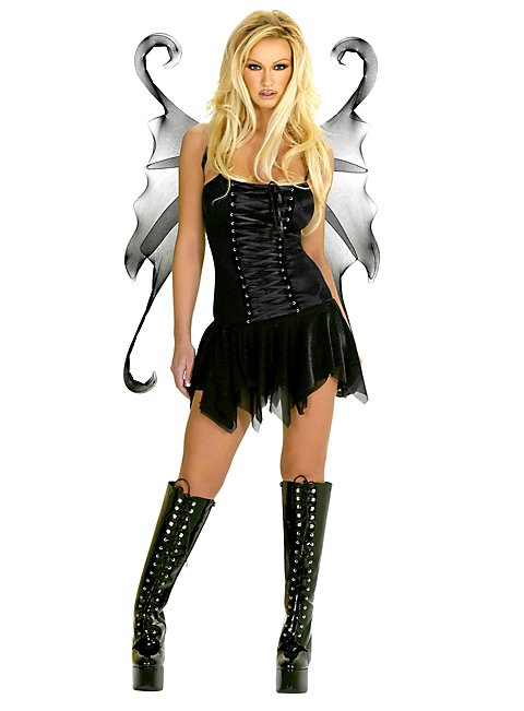 Schwarze Fee Kostüm