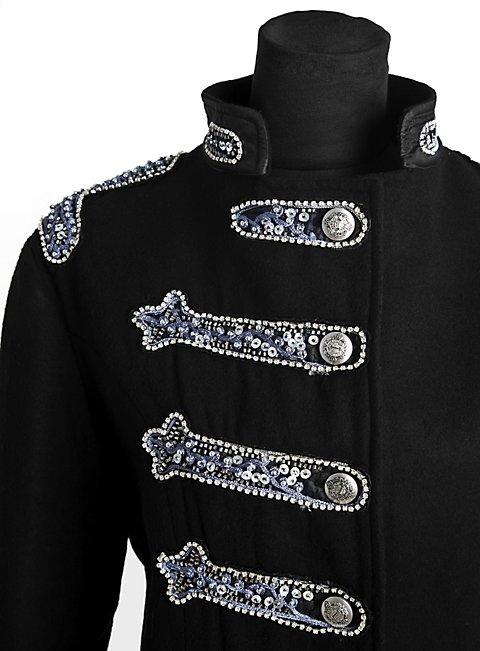 Schwarze Uniformjacke Damen