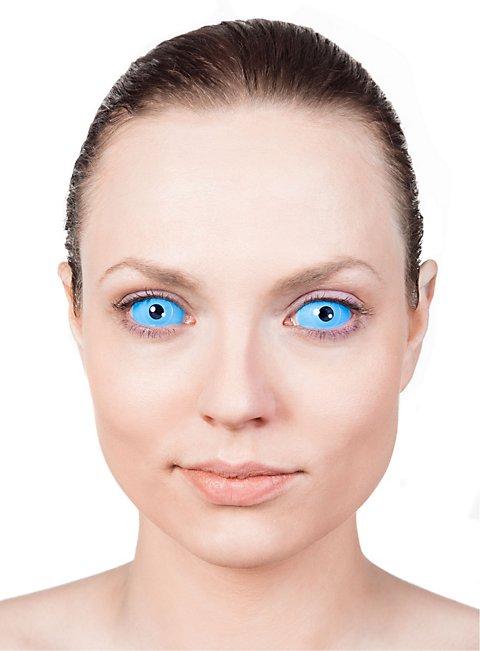 Sclera hellblau Kontaktlinsen