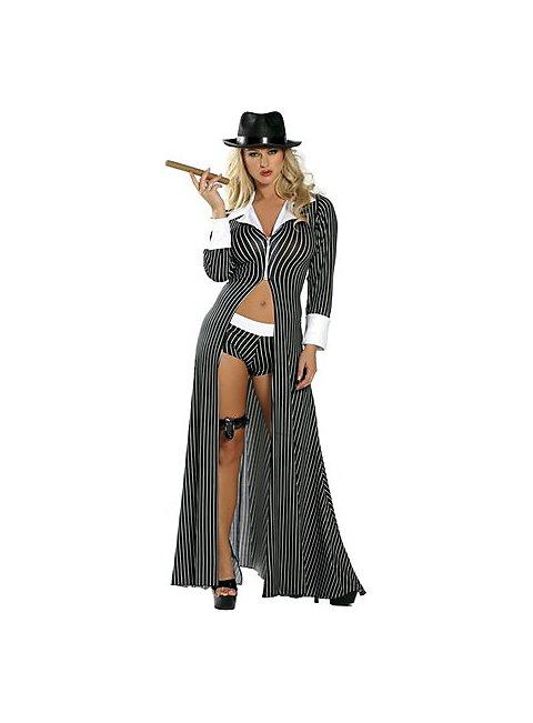 Sexy Mafia Mama Kostüm