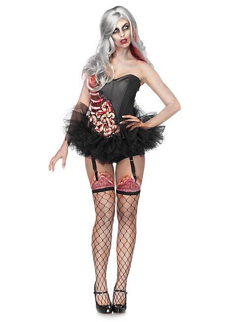 Sexy Splatter-Schönheit Kostüm