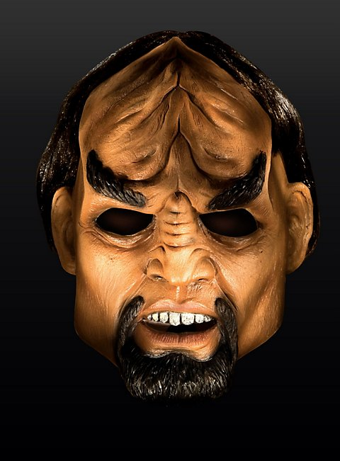 Star Trek Next Generation Worf Maske