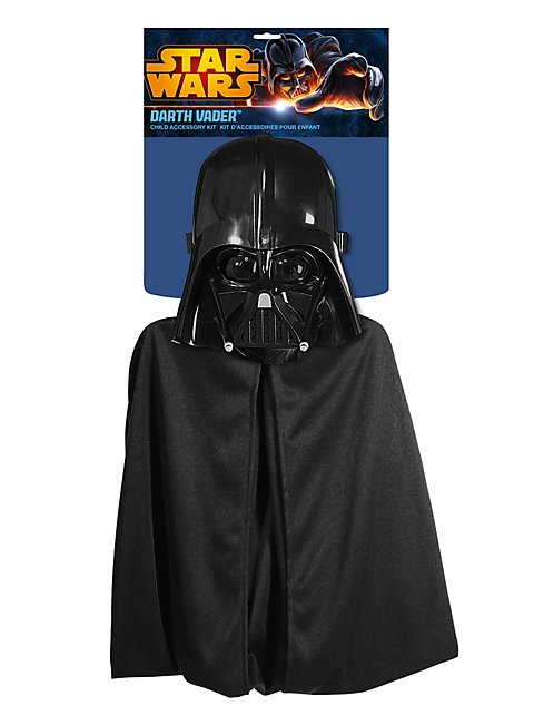 star wars darth vader kost m set f r kinder. Black Bedroom Furniture Sets. Home Design Ideas