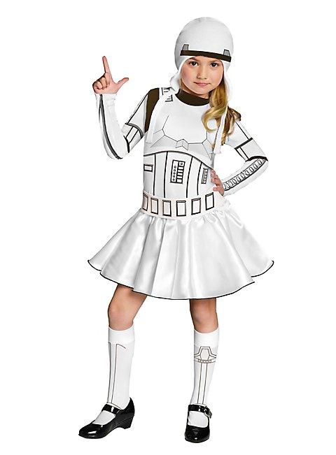 star wars stormtrooper m dchen kinderkost m. Black Bedroom Furniture Sets. Home Design Ideas