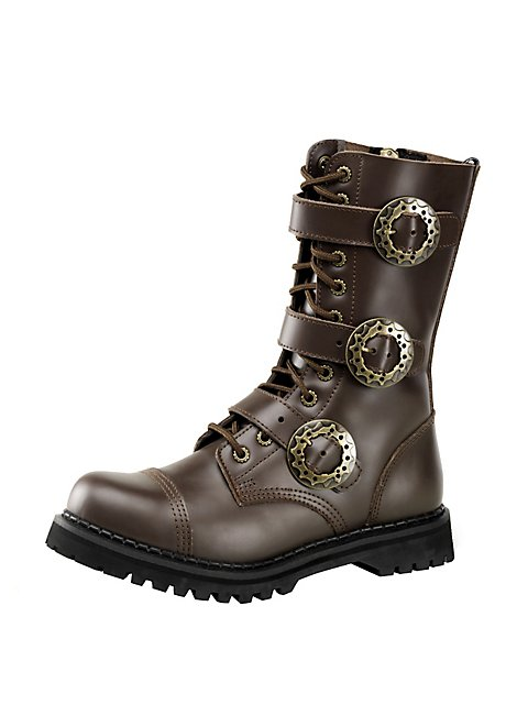 steampunk shoes men brown