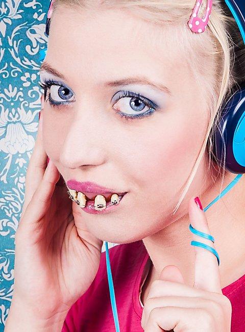 Teenager Zähne