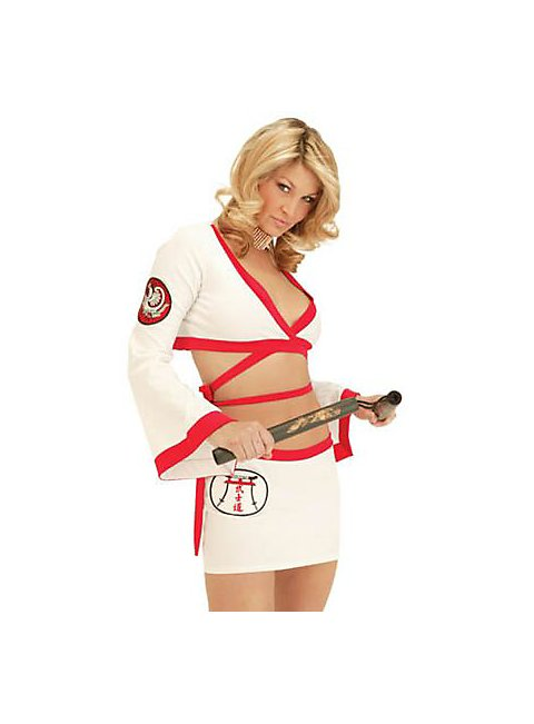 The Karate Chick costume