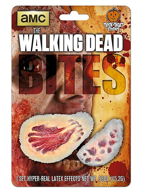 The Walking Dead Bisswunden Latexapplikation