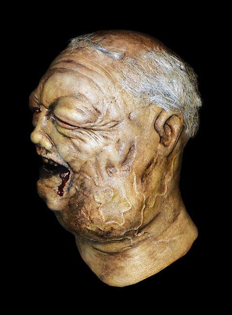 The Walking Dead Brunnen Zombie Maske aus Latex