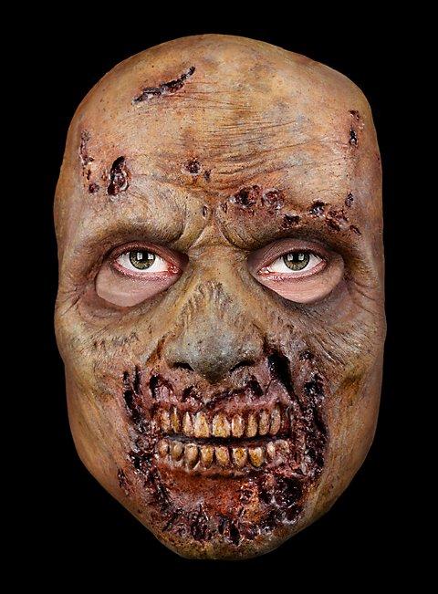 The Walking Dead Farm Zombie Halbmaske aus Latex
