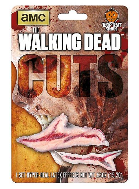 The Walking Dead Schnittwunden Latexapplikation