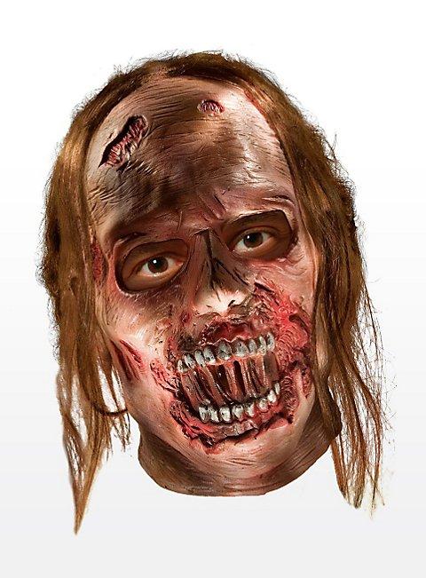 The Walking Dead Verwester Zombie Maske aus Latex