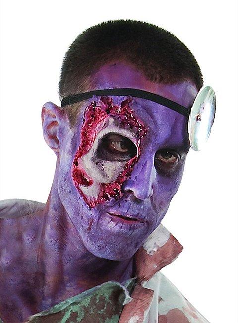 The Walking Dead Zombie Augenpartie Latexapplikation