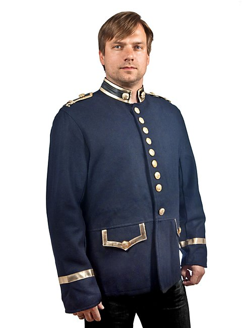 Uniformrock dunkelblau