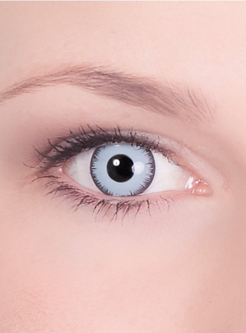 Light Blue Contact Lenses Vampire