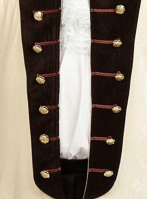 Velvet Dress Coat white