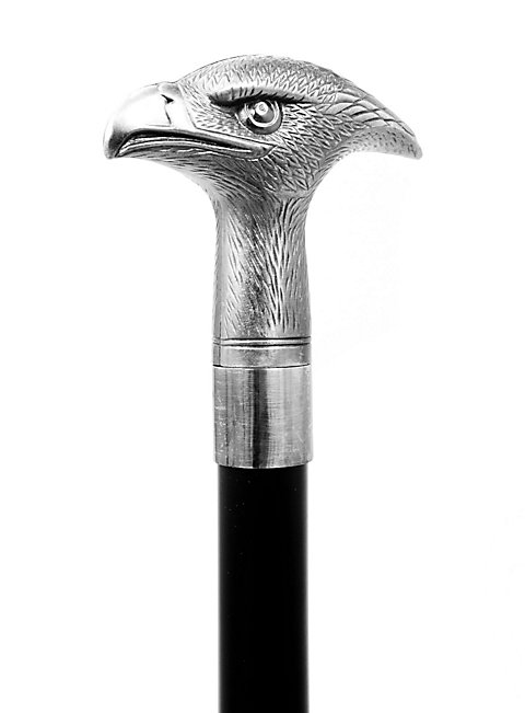 Walking Stick Eagle Head