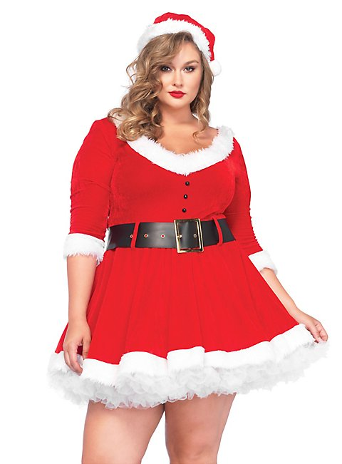 weihnachtsfrau xxl kost m sexy weihnachtskost m. Black Bedroom Furniture Sets. Home Design Ideas