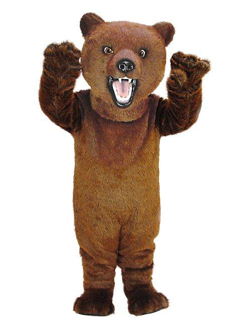 Wilder Grizzly Maskottchen