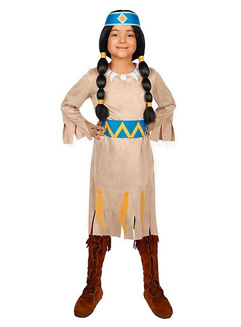 Yakari Regenbogen Kinderkostüm - Indianerkostüm für Mädchen