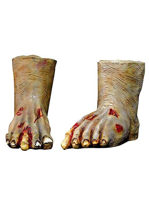 Zombiefüsse hell