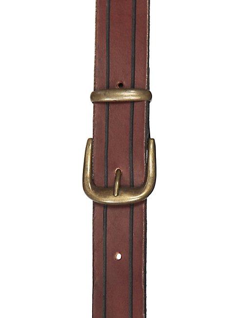 Zweifacher Rückenschwerthalter Schnalle braun