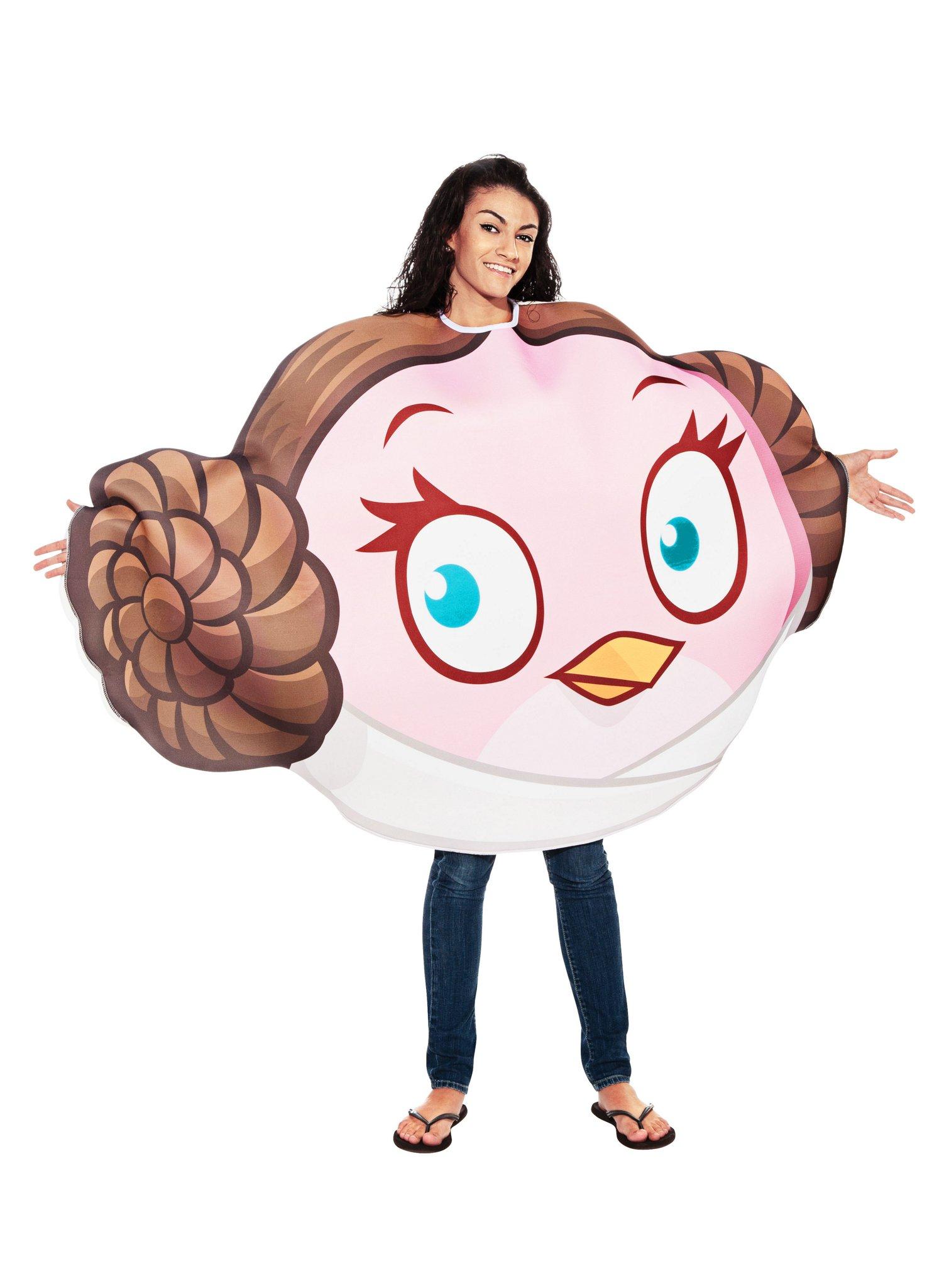 Original Lizenz Star Wars Angry Birds Prinzessin Leia Kostum
