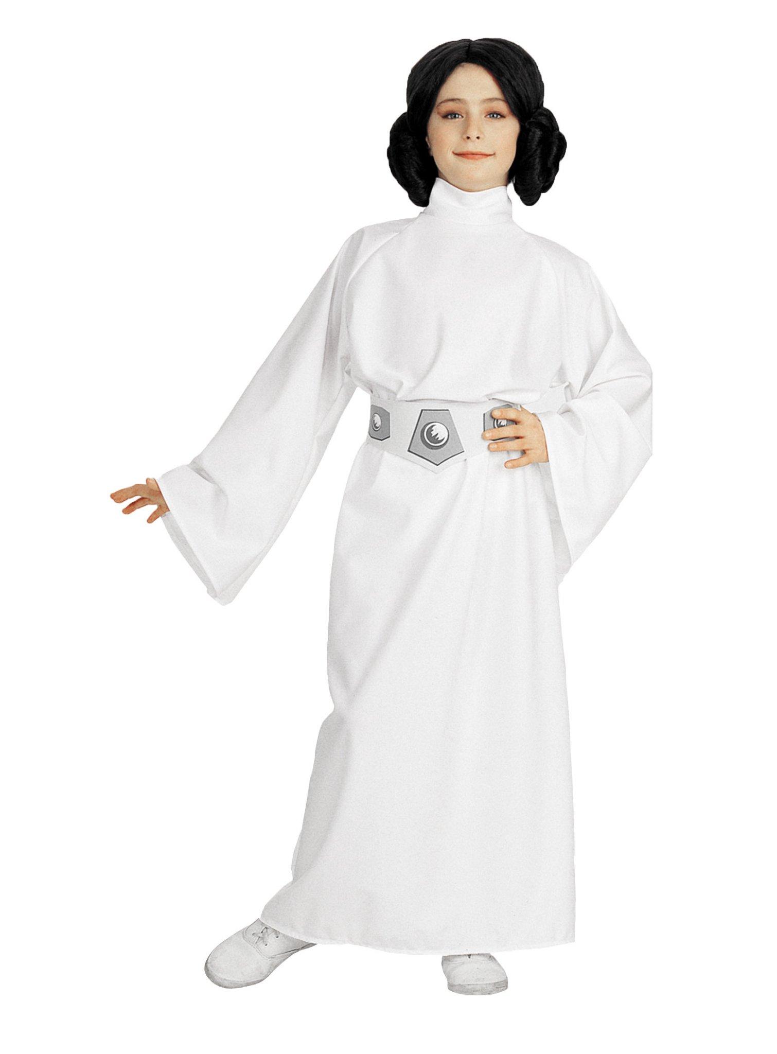 Star Wars Prinzessin Leia Kinderkostum Karneval Fasching Ebay